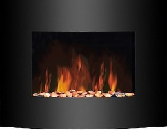 Электрический камин в квартире, как альтернатива живому пламени
