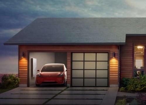Солнечная черепица Tesla